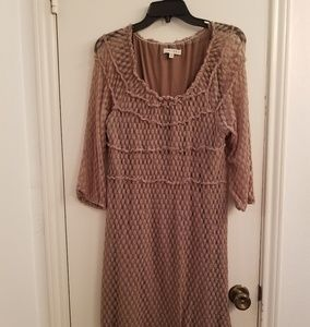 Lovely brown dress